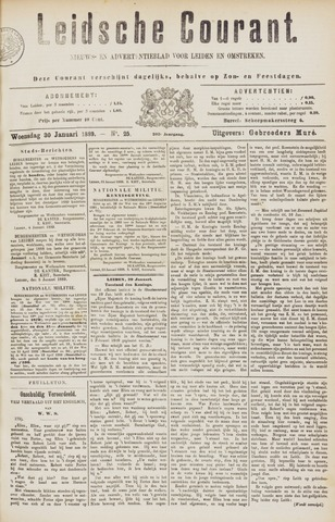 Leydse Courant 1889-01-30