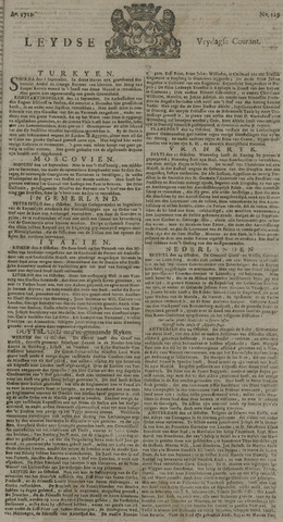 Leydse Courant 1729-10-28