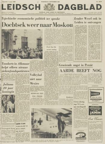 Leidsch Dagblad 1968-09-04