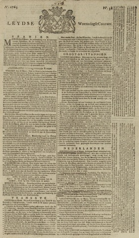 Leydse Courant 1763-03-30