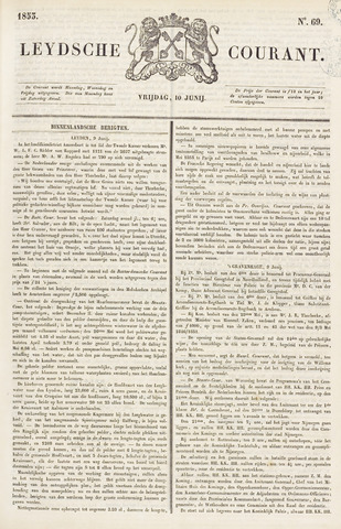 Leydse Courant 1853-06-10