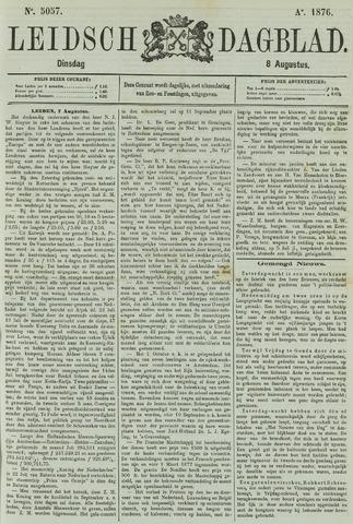 Leidsch Dagblad 1876-08-08