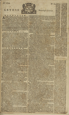 Leydse Courant 1754-07-15