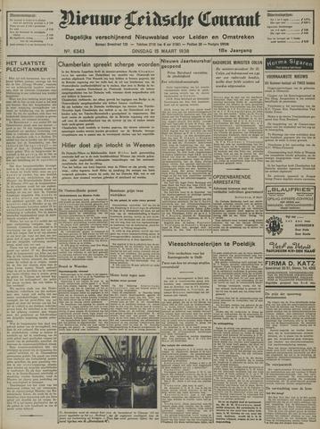 Nieuwe Leidsche Courant 1938-03-15