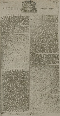 Leydse Courant 1734-08-13