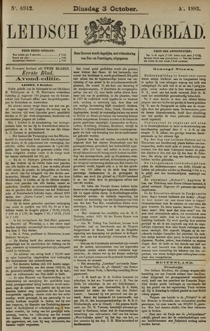 Leidsch Dagblad 1882-10-03