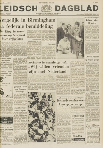 Leidsch Dagblad 1963-05-09
