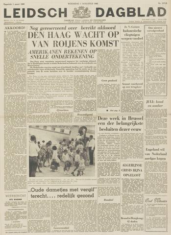 Leidsch Dagblad 1962-08-01