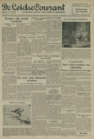 Leidse Courant 1952-08-27