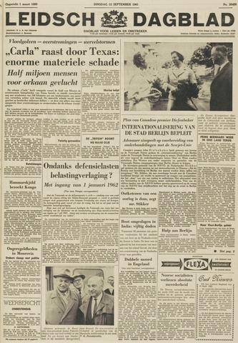 Leidsch Dagblad 1961-09-12