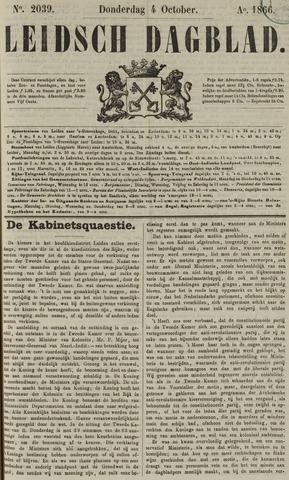 Leidsch Dagblad 1866-10-04