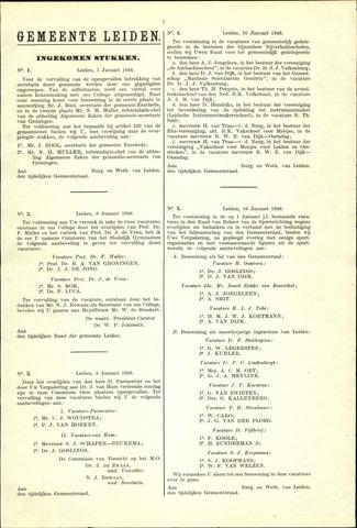 Handelingen van de Raad 1946-01-07