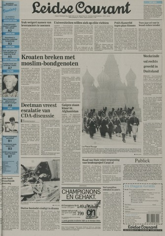 Leidse Courant 1992-09-07