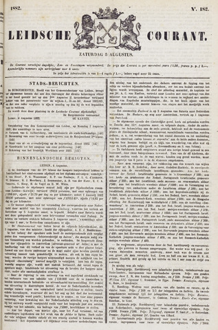 Leydse Courant 1882-08-05