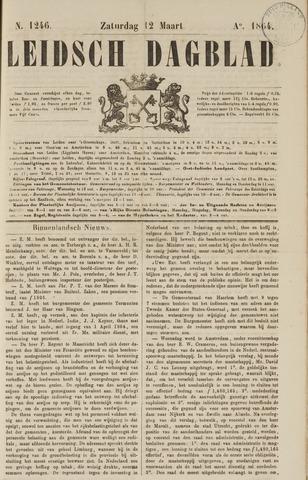 Leidsch Dagblad 1864-03-12