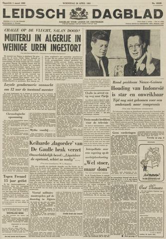 Leidsch Dagblad 1961-04-26