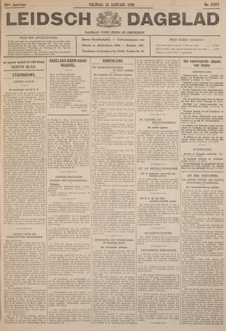 Leidsch Dagblad 1930-01-10