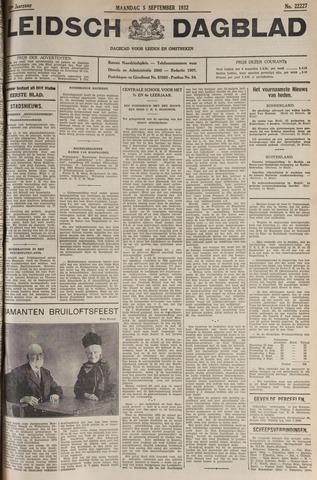 Leidsch Dagblad 1932-09-05
