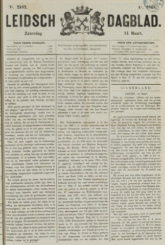 Leidsch Dagblad 1868-03-14