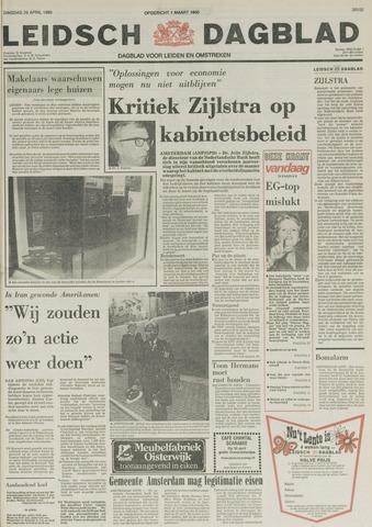 Leidsch Dagblad 1980-04-29