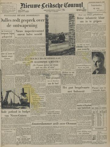 Nieuwe Leidsche Courant 1957-07-31