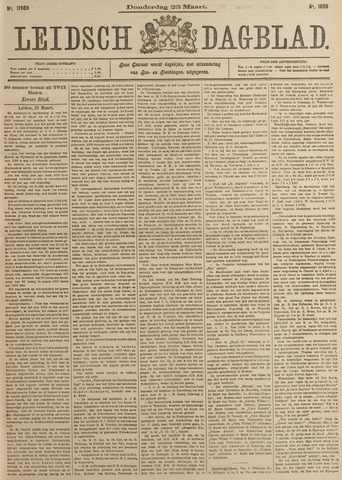 Leidsch Dagblad 1899-03-23