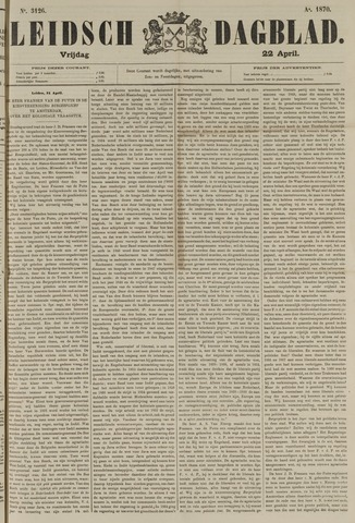 Leidsch Dagblad 1870-04-22