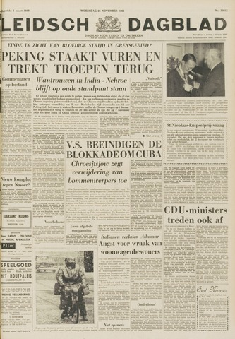 Leidsch Dagblad 1962-11-21
