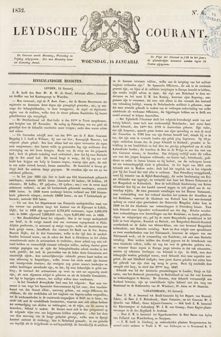 Leydse Courant 1852-01-14