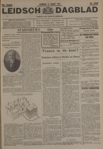 Leidsch Dagblad 1937-03-27