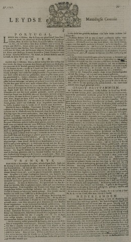 Leydse Courant 1727-11-10