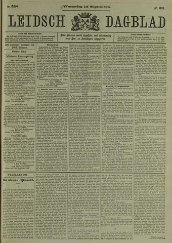 Leidsch Dagblad 1909-09-15