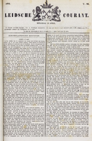 Leydse Courant 1882-04-18