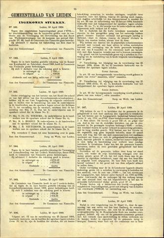 Handelingen van de Raad 1909-04-10
