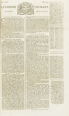 Leydse Courant 1826-10-23