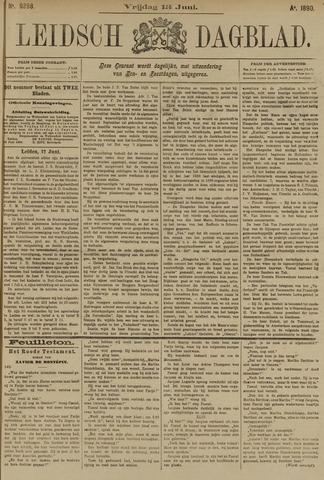 Leidsch Dagblad 1890-06-13