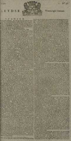 Leydse Courant 1734-03-03