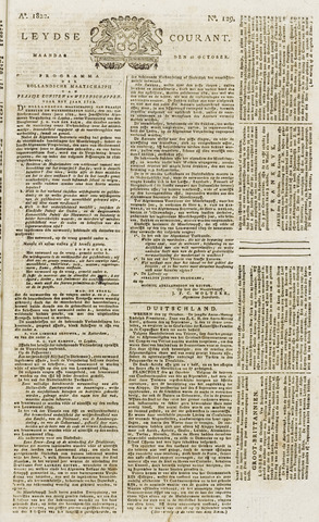 Leydse Courant 1822-10-28