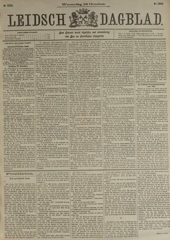Leidsch Dagblad 1896-10-28
