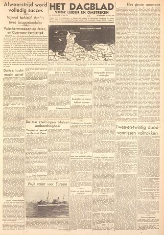 Dagblad voor Leiden en Omstreken 1944-06-07
