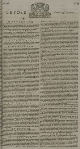 Leydse Courant 1726-05-29