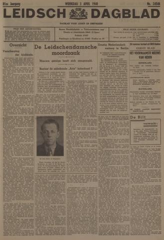 Leidsch Dagblad 1940-04-03
