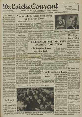 Leidse Courant 1961-02-18