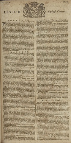 Leydse Courant 1757-01-14