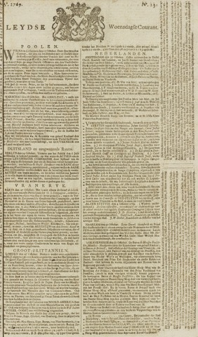 Leydse Courant 1769-11-01