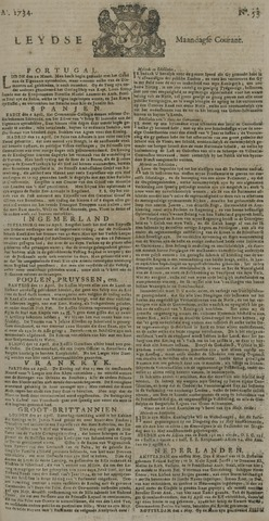 Leydse Courant 1734-05-03