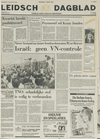 Leidsch Dagblad 1982-08-02