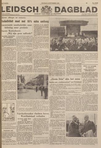 Leidsch Dagblad 1951-09-14