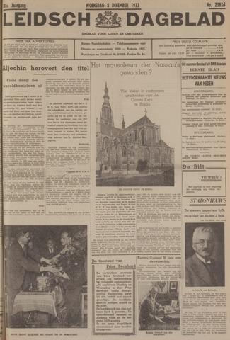 Leidsch Dagblad 1937-12-08