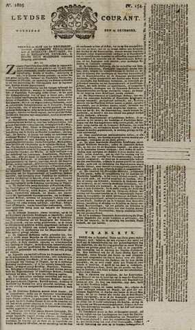 Leydse Courant 1805-12-25